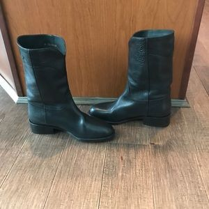 Black Chanel boots Size 5